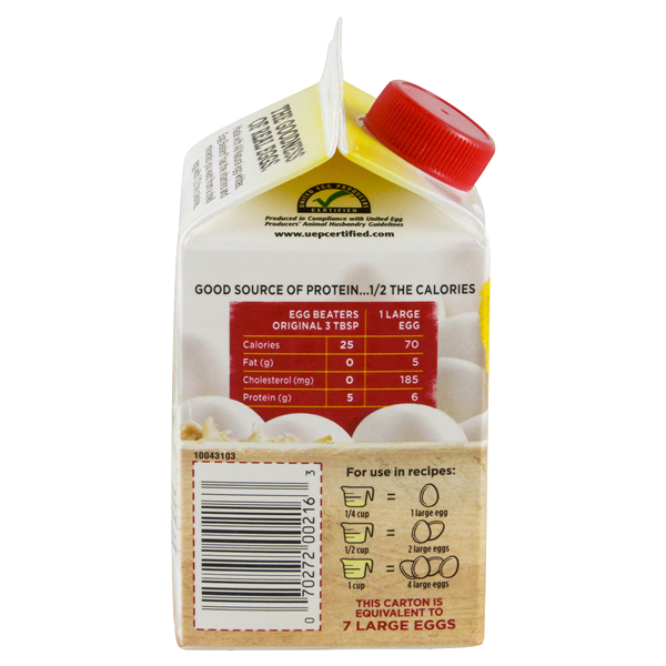 Egg Beaters Nutrition 1 Cup Blog Dandk