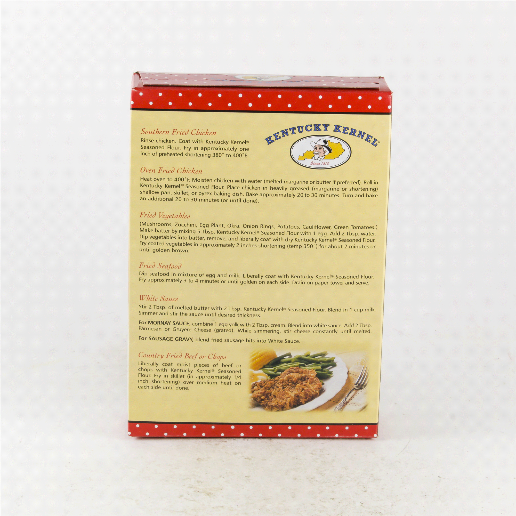 Kentucky Kernel Seasoned Flour 10 Oz Potato Battery How To Turn Produce Into Veggie Power