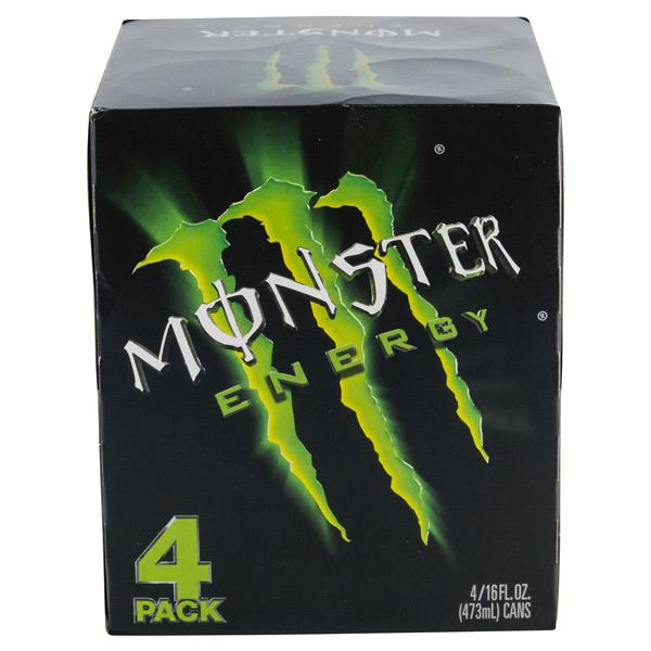 monster energy 16 oz 4 pk cans meijer com