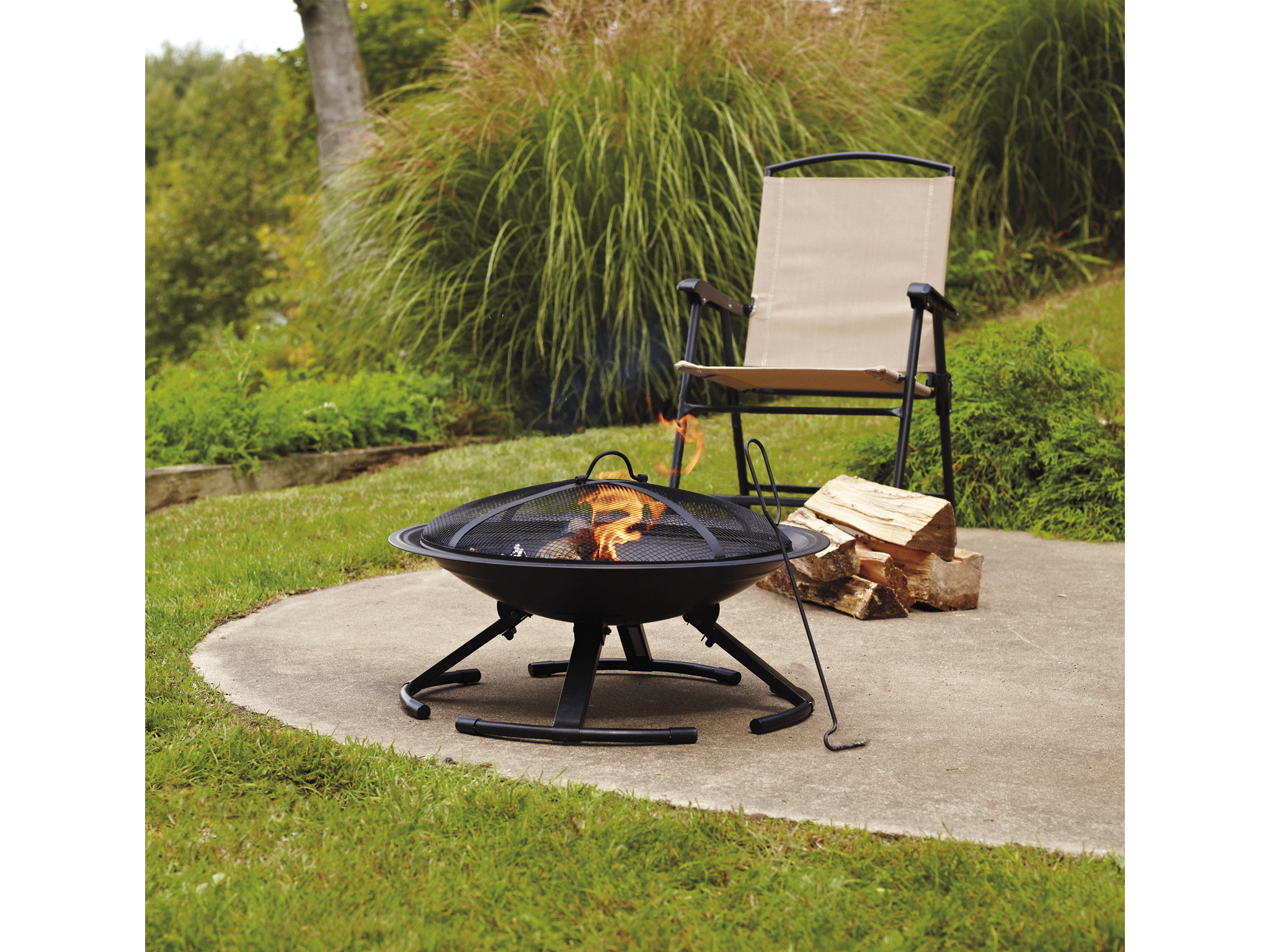 Home 26 Grab And Go Fire Pit
