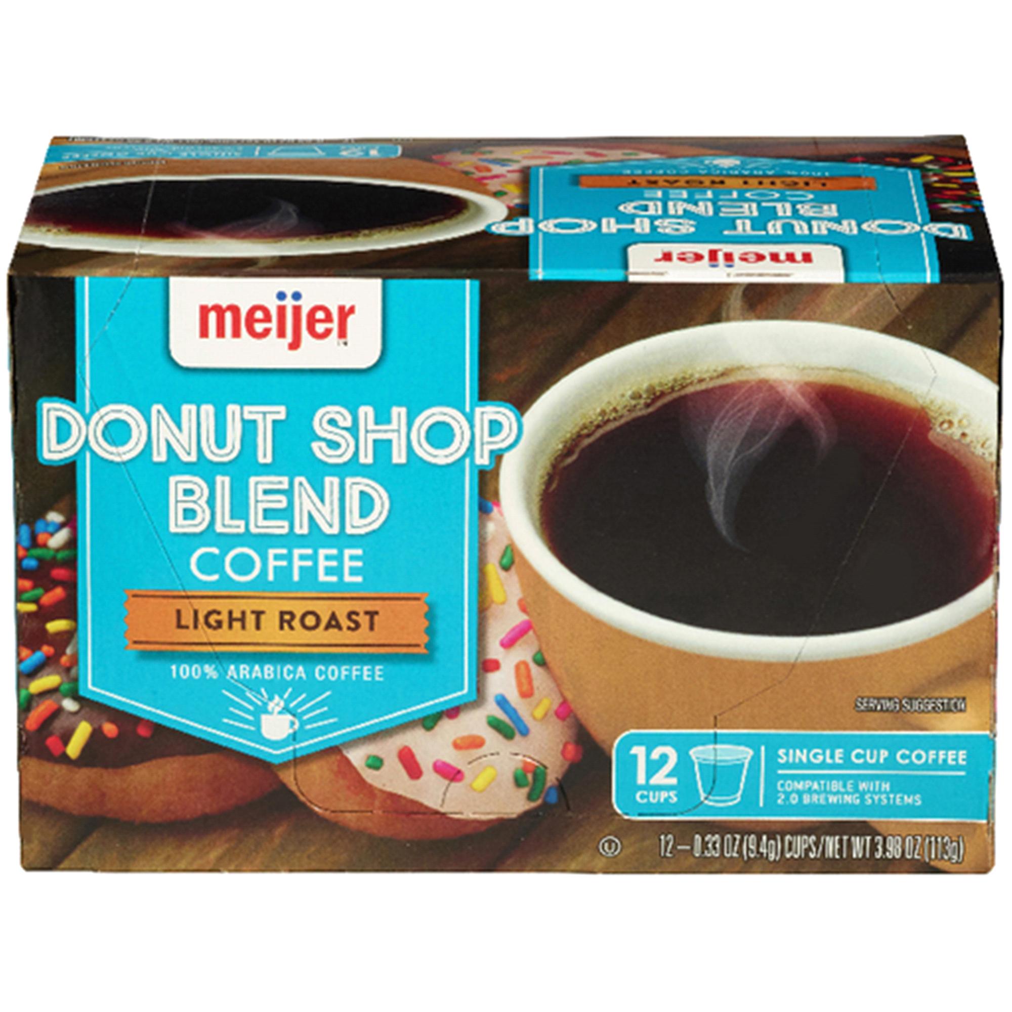 Meijer K-Cup Donut Shop Coffee 12 Count   Meijer.com