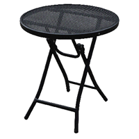 4fa41dbae Home Wrought Iron Mesh Folding Bistro Table