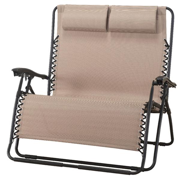Attirant Home Doublewide Zero Gravity Chair