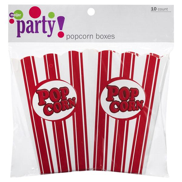 Meijer Popcorn Boxes 10 Ct