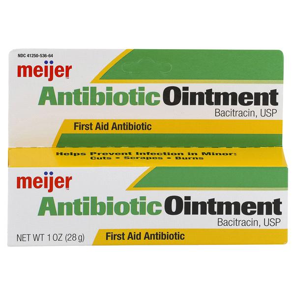 Meijer Antibiotic Ointment 1 oz