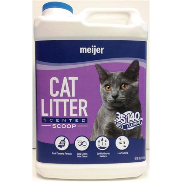 Meijer Scoopable Scented Cat Litter 20 Lb
