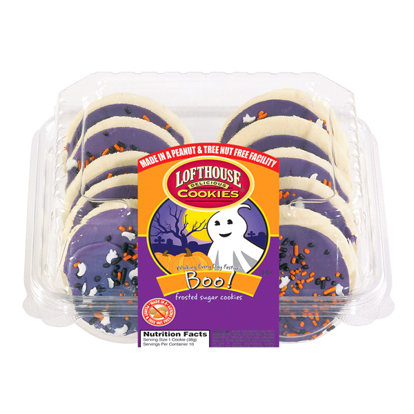 Lofthouse Frosted Boo Sugar Cookies 10 Count Meijer Com