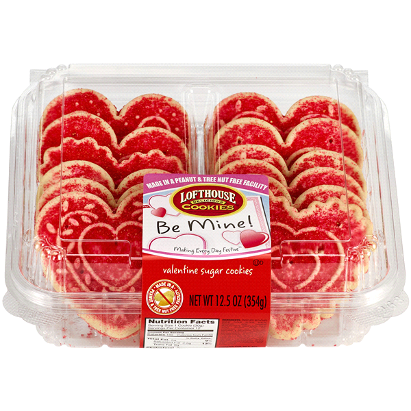Lofthouse Frosted Sugar Cookies Valentine 12 5 Oz Meijer Com