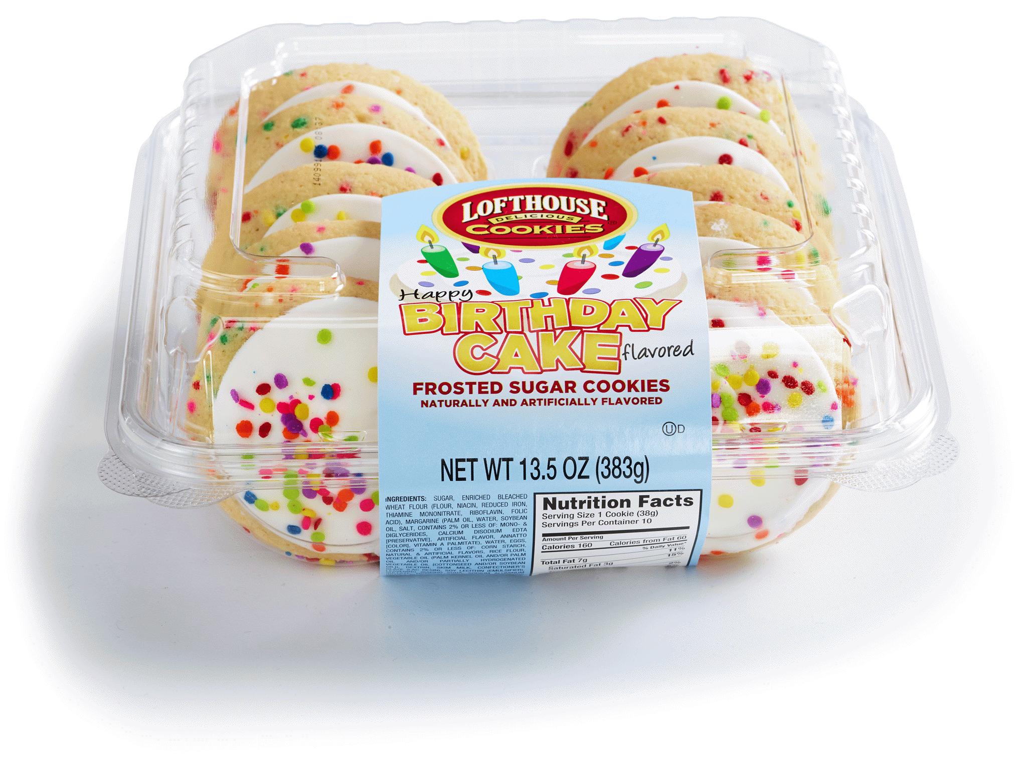 Fred Meyer Cake Nutrition