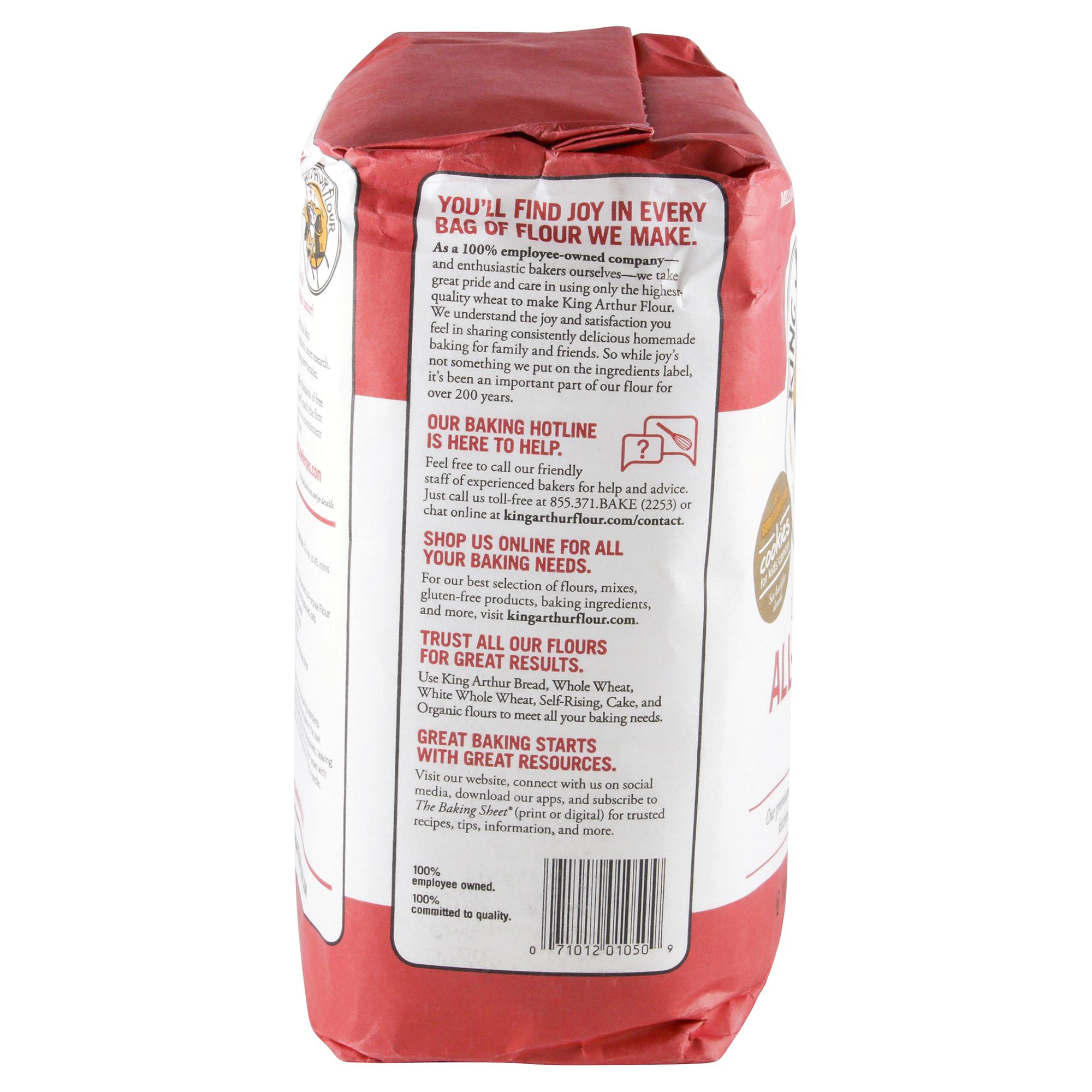 king arthur unbleached all purpose flour 5 lbs meijer com