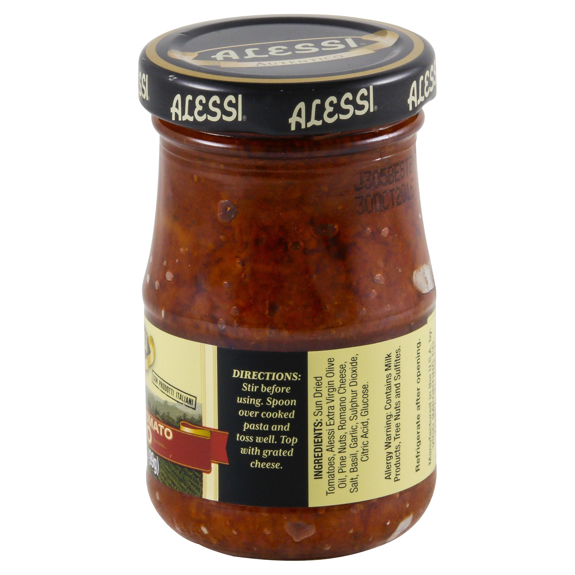 Alessi Sun Dried Tomato Pesto 3.5 oz. | Meijer.com