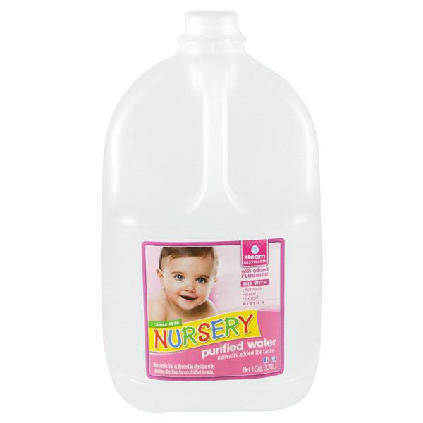 Nursery Water Gallon