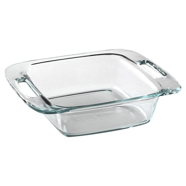 PyrexR Easy GrabR 8 Square Baking Dish