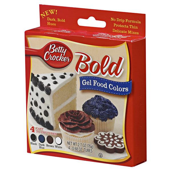 Betty Crocker™ Bold Gel Food Colors 2.7 oz | Meijer.com