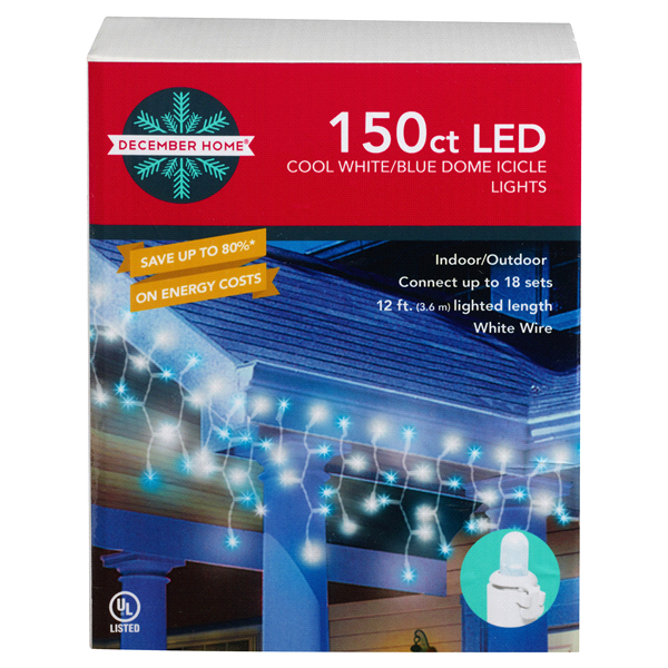 White Led Icicle Lights Outdoor 120 blue and cool white led icicle lights meijer 120 blue and cool white led icicle lights workwithnaturefo