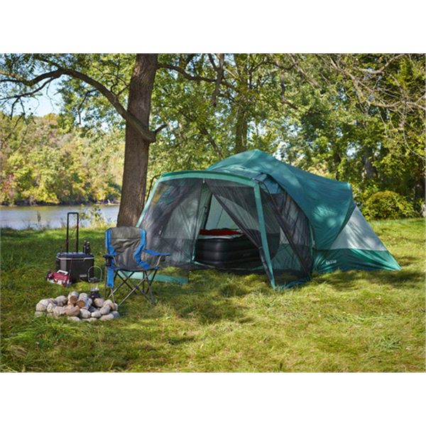 Lake u0026 Trail 9 Person Dome Tent with Screen Room  sc 1 st  Meijer : screen dome tent - memphite.com