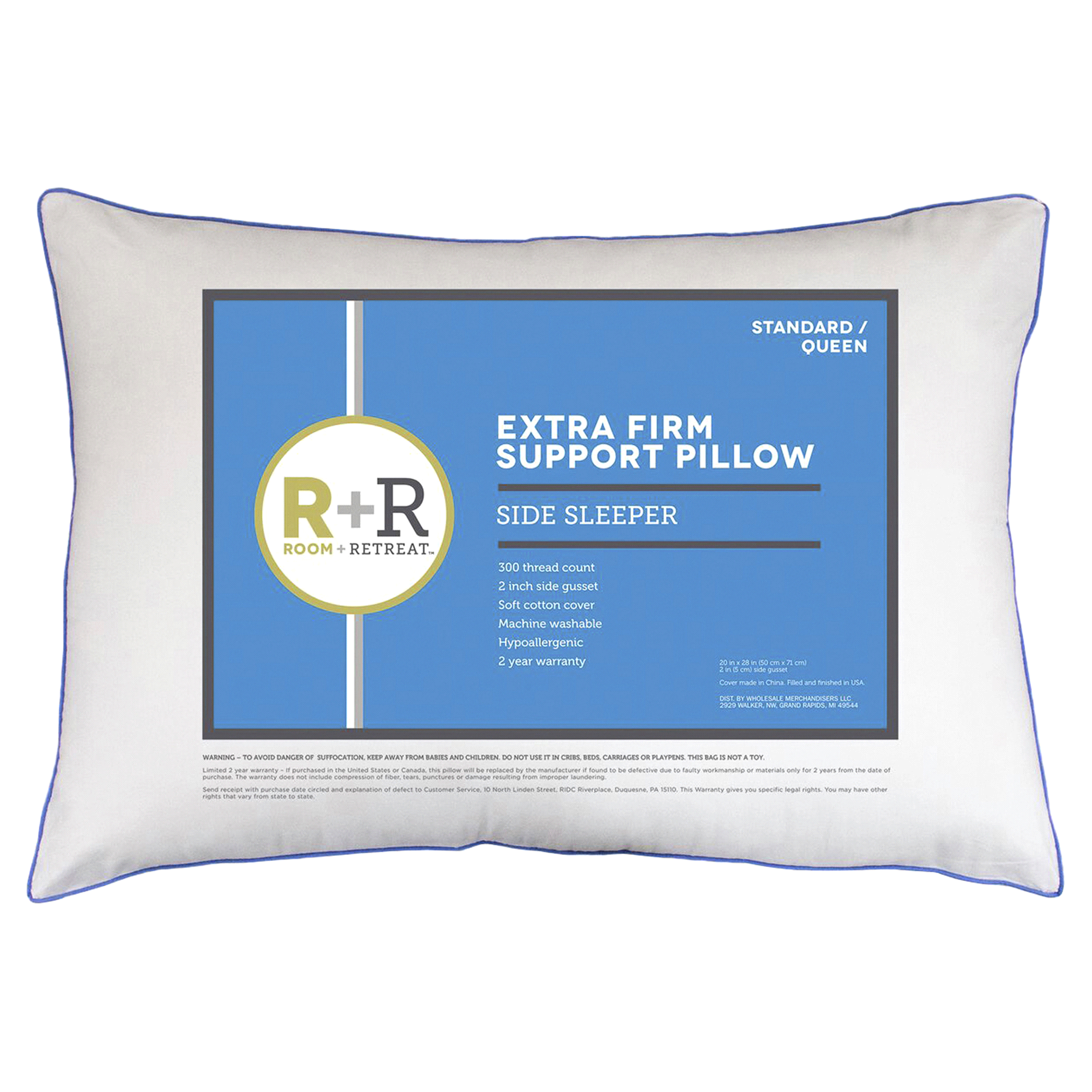 level performance sleeper side shop pillow