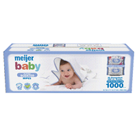 d4798d756 Meijer Baby Wipes Scented Lavender Soft Pack 1000ct
