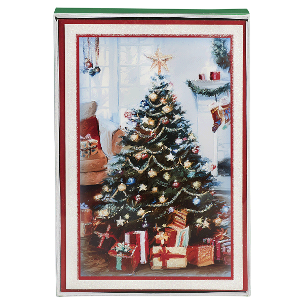 boxed cards christmas tree 16 ct