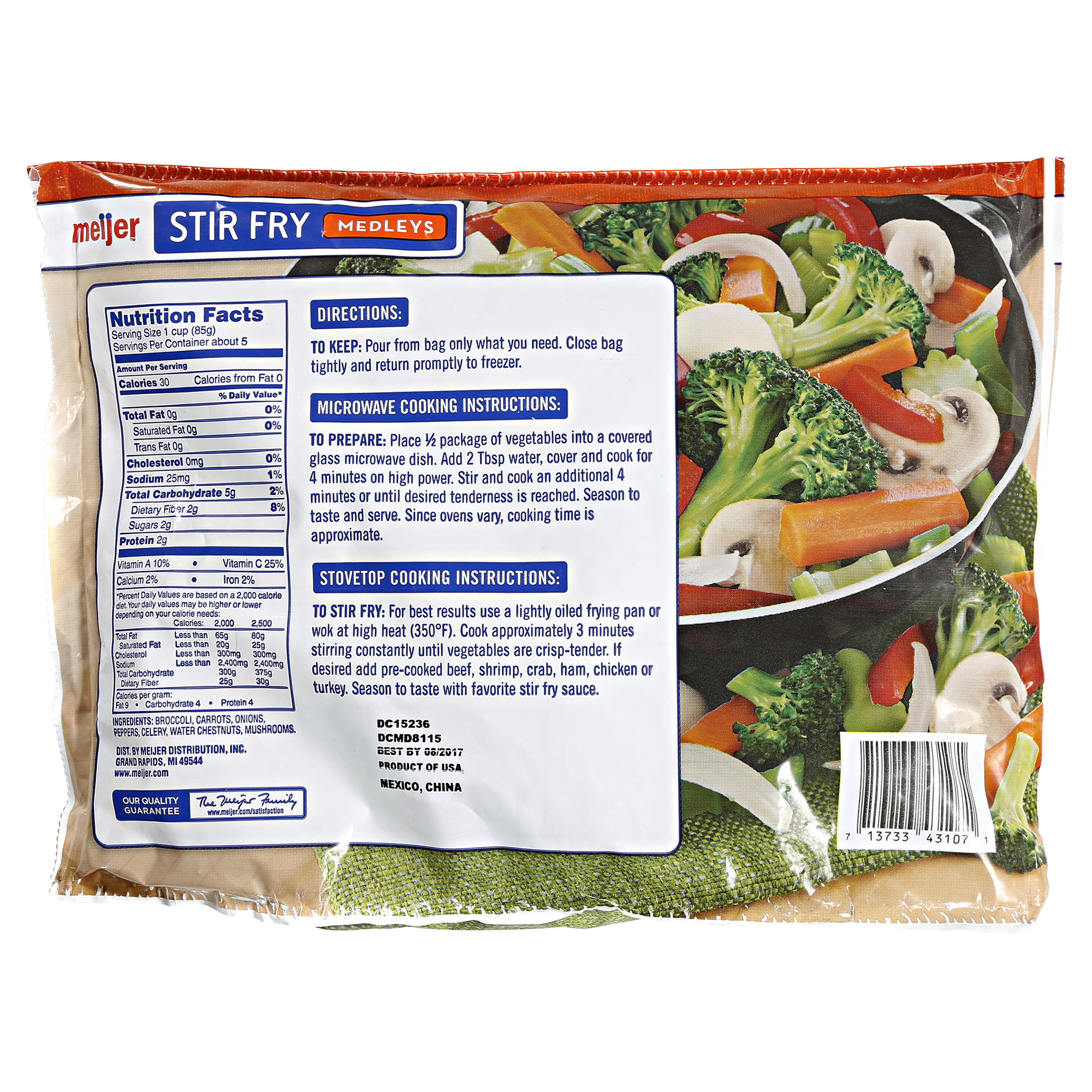 Meijer Stir Fry Vegetables Medleys 16 oz | Meijer.com