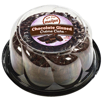 Meijer Chocolate Glazed Creme Cake 20 Oz
