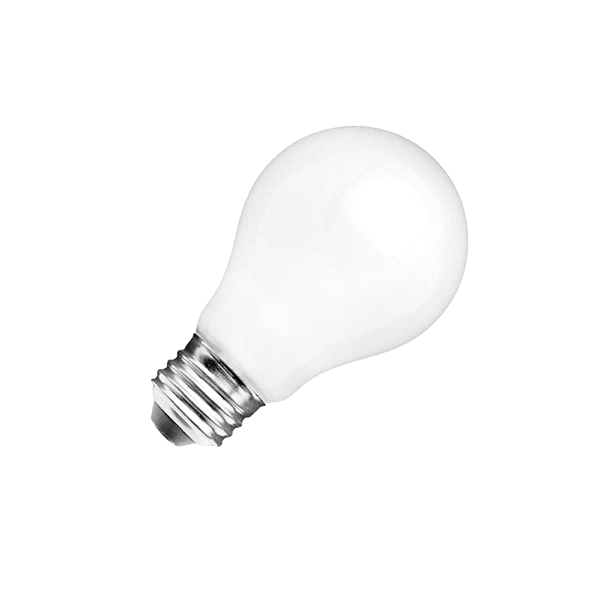 60w Equivalent A15 Dimmable Frosted Glass Filament Led Light Bulb