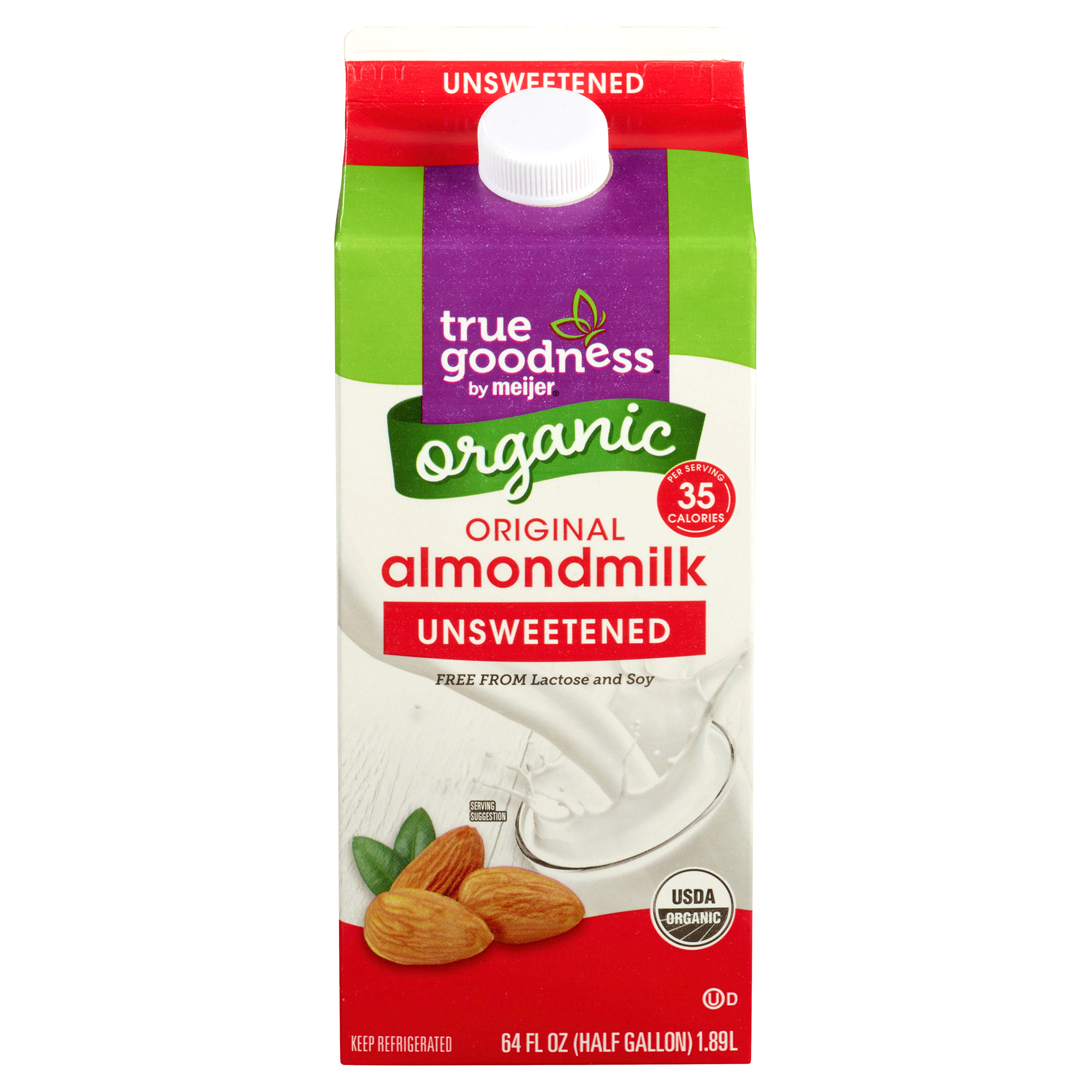True Goodness Organic AlmondMilk 64 fl oz
