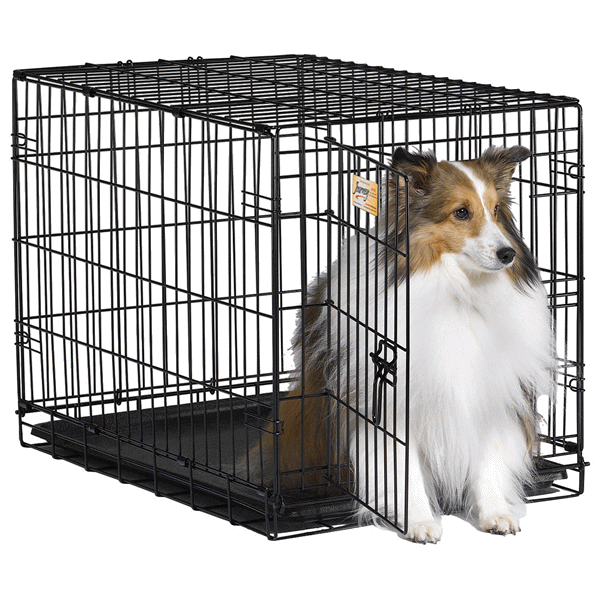 Proconcepts 2 Door Wire Crate Black Medium Meijer