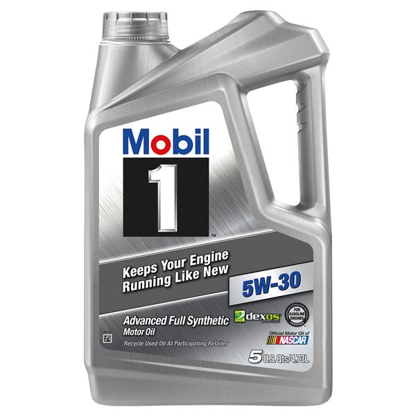 mobil 1 full synthetic motor oil 5w-30 - 5 quart   meijer.com
