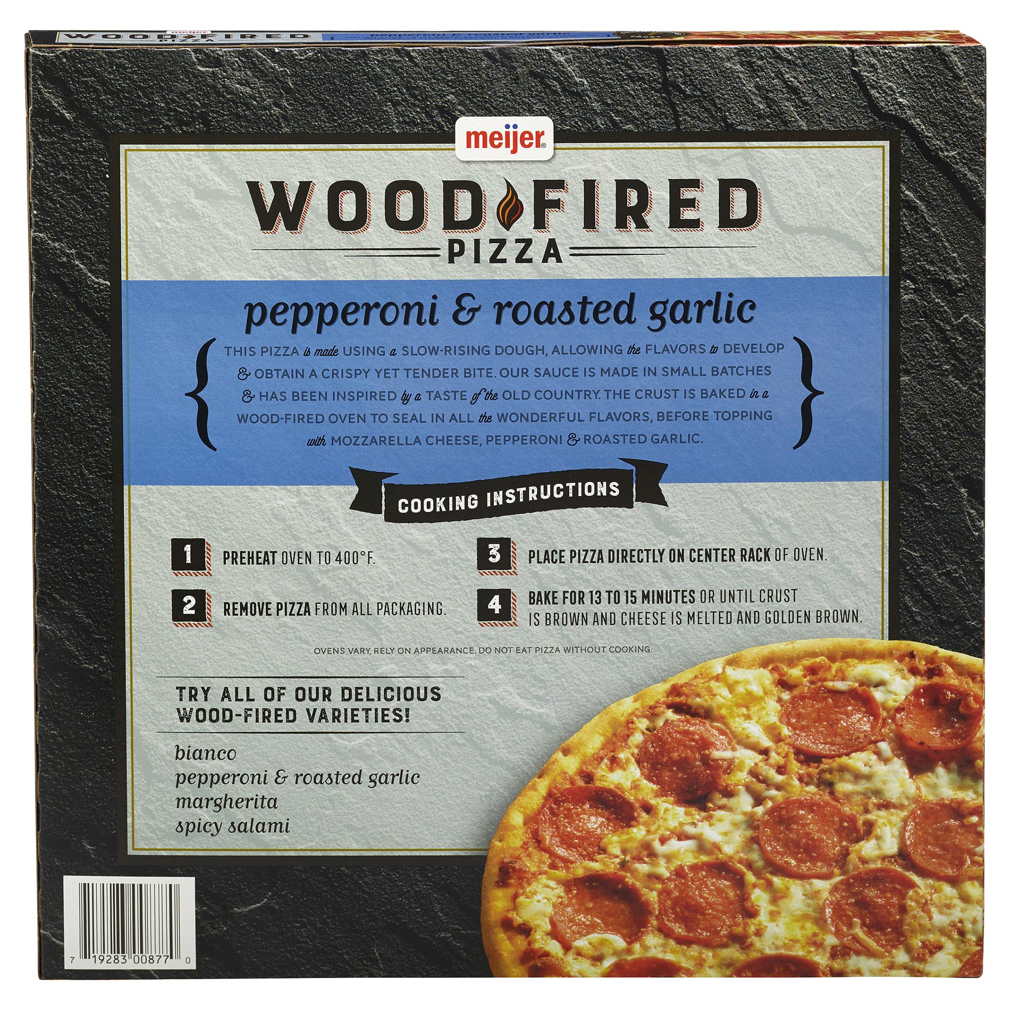 Meijer Wood Fired Pizza Pepperoni 12.25 oz | Meijer.com