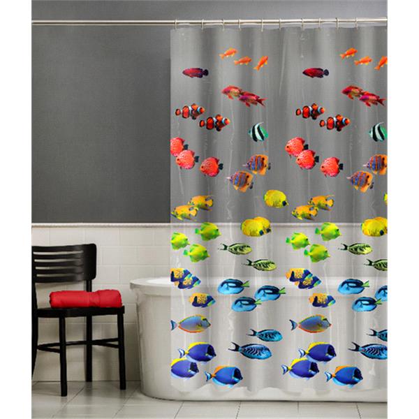 Room And Retreat New School PEVA Shower Curtain