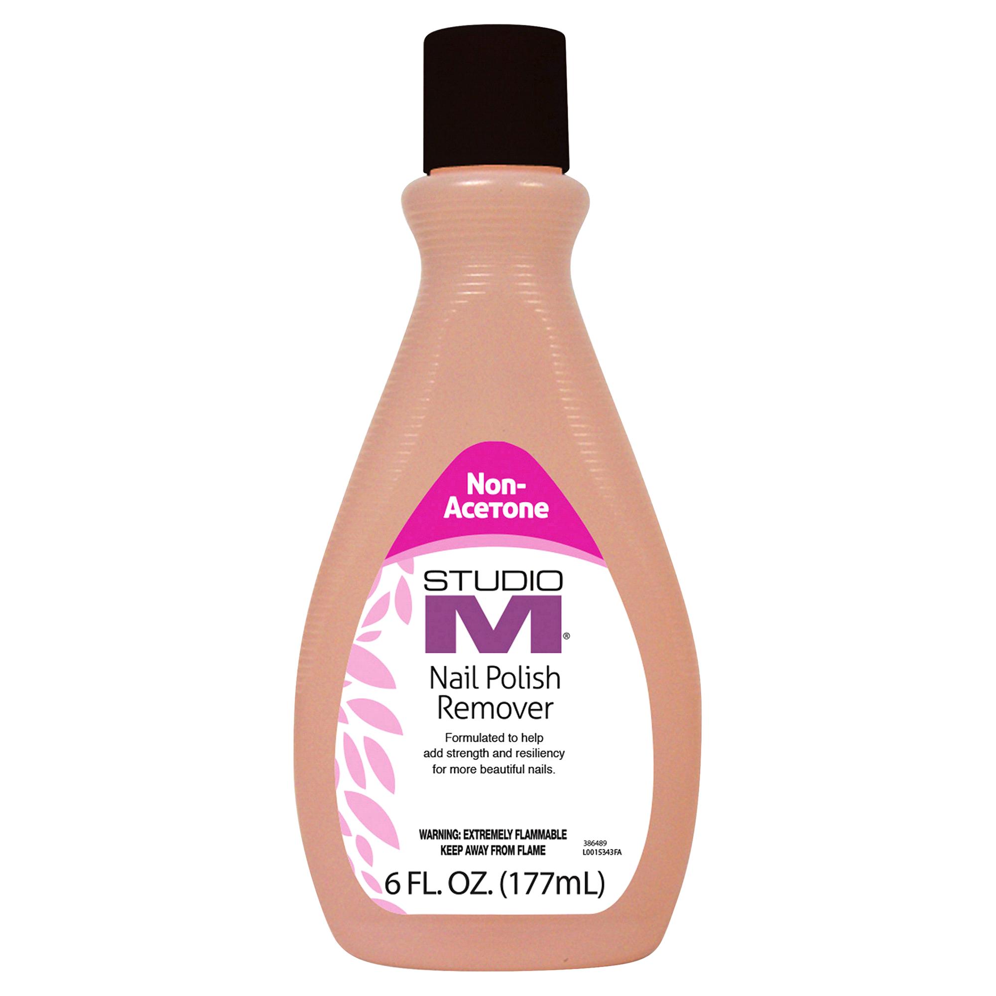 Studio M Non Acetone Nail Polish Remover 6 oz | Meijer.com