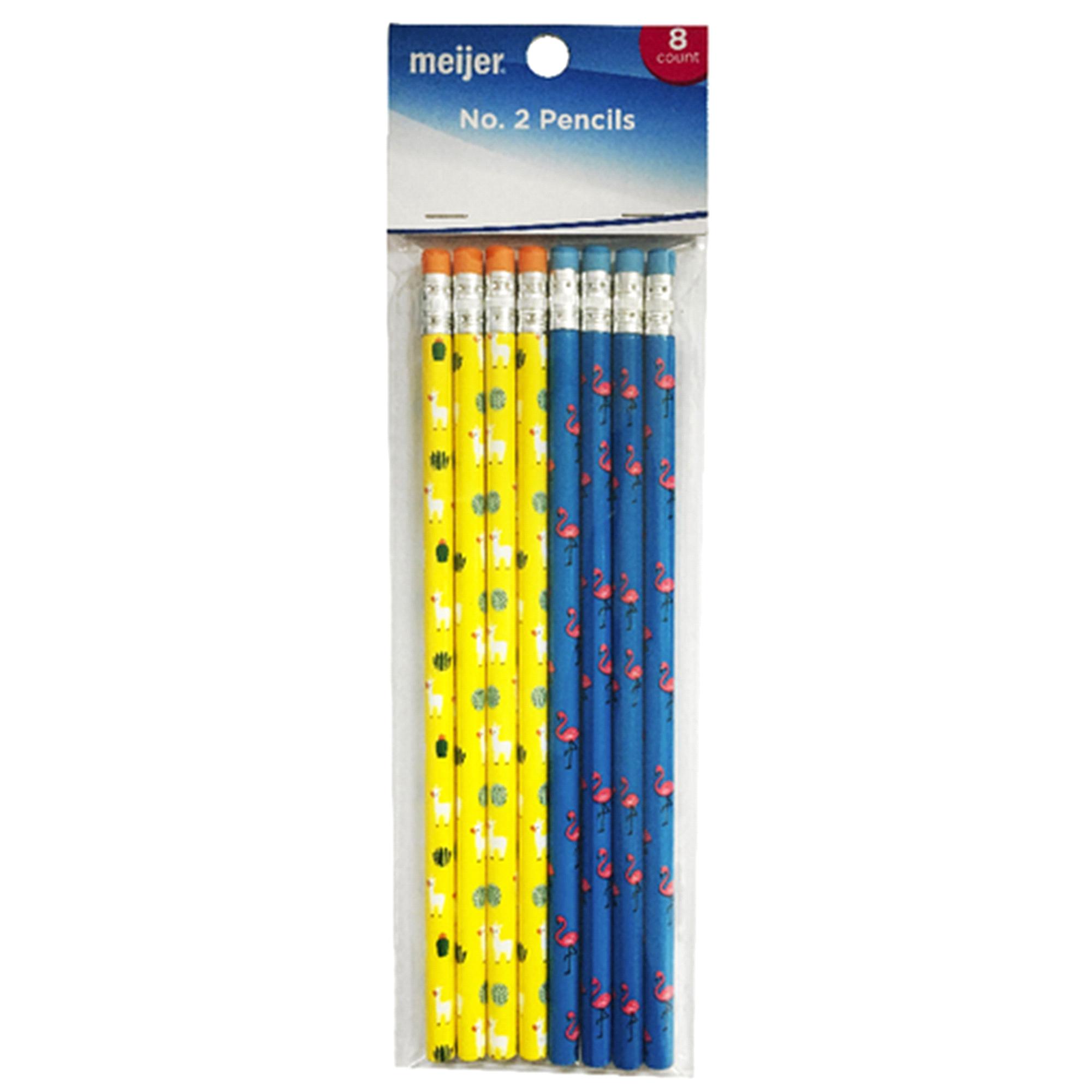 Incroyable Meijer Llama Pencils 8ct   Meijer.com