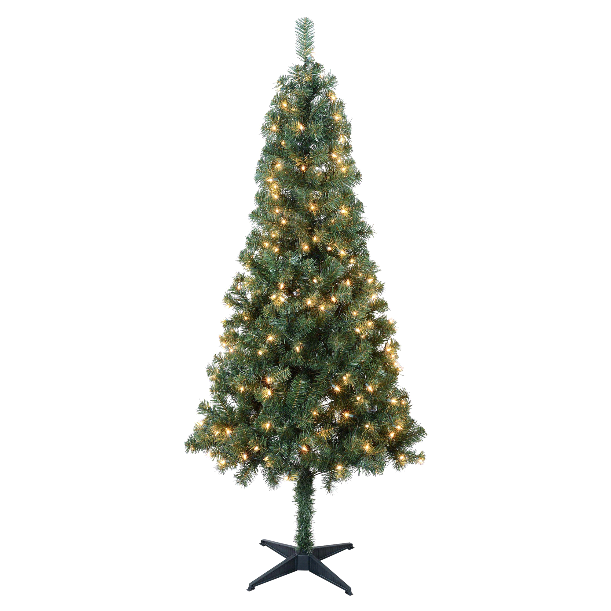 6 Foot Pre Lit Tacoma PVC Tree with Plastic Stand | Meijer.com