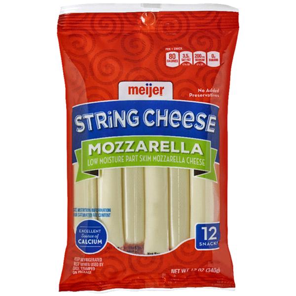 Meijer String Cheese 12 Oz