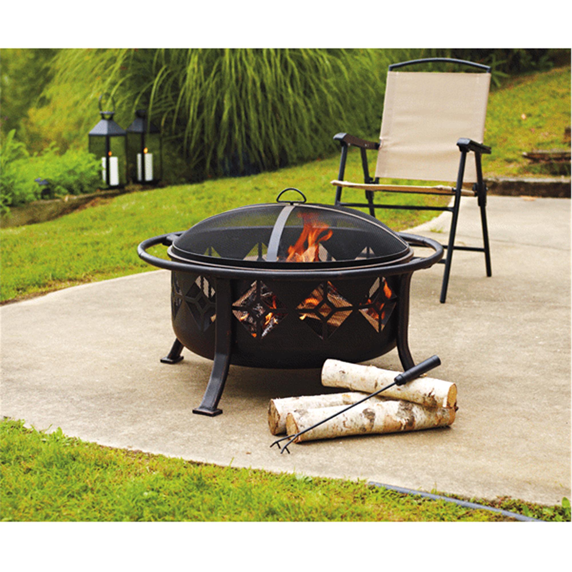 home sunderland deep bowl 36 fire pit meijer