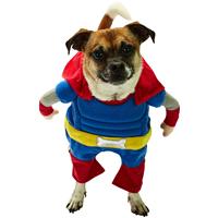 meijer super boy pet costume medium