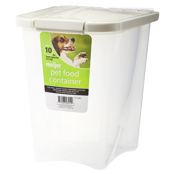 Pet Food Storage Container 10 lb | Meijer.com