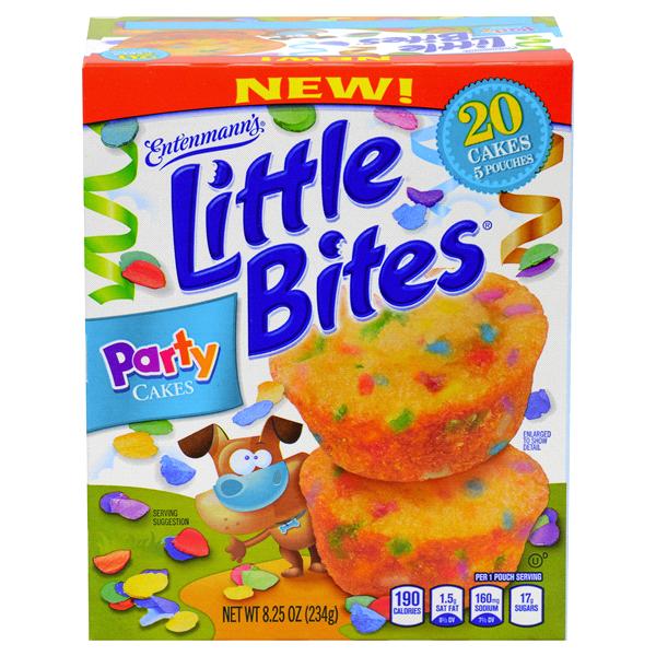 Entenmanns Little Bites Muffins Party Cakes 825 Oz