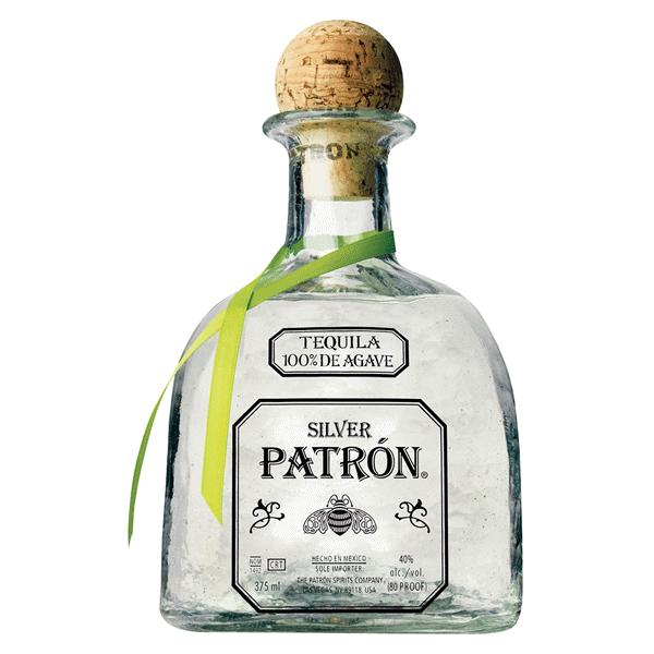 Patron Silver Tequila 375 ml  fb2e597489c8