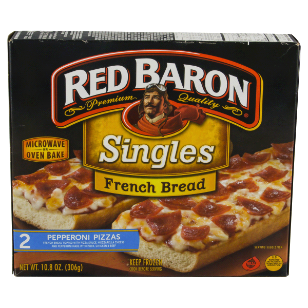 Red Baron Pepperoni French Bread Pizza 1080 Oz Meijer
