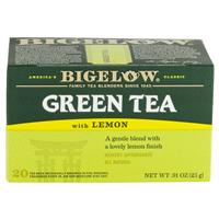 Bigelow Tea Green Tea With Lemon Tea Bags 20 ct. f31089732