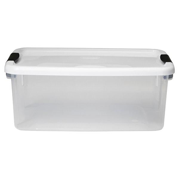 Sterilite 18 Quart Ultra Storage Box Clear  sc 1 st  Meijer & Sterilite 18 Quart Ultra Storage Box Clear | Meijer.com