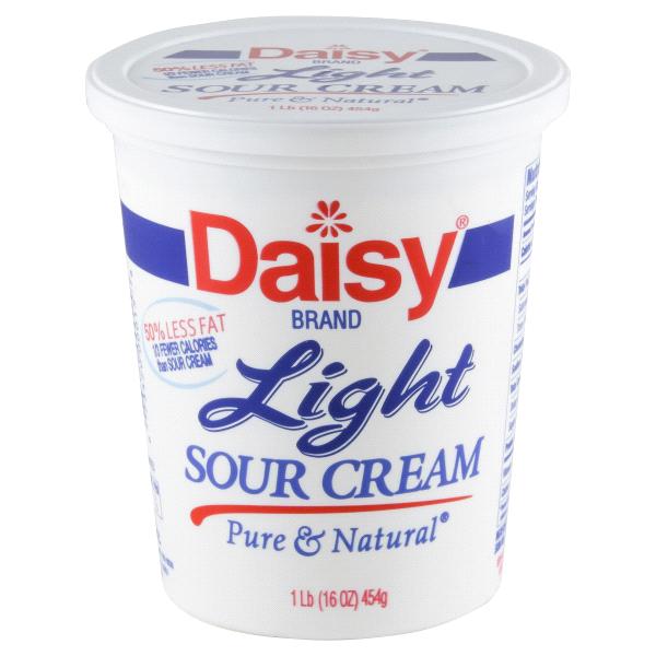 Daisy Light Sour Cream Nutritional Information Nutrition