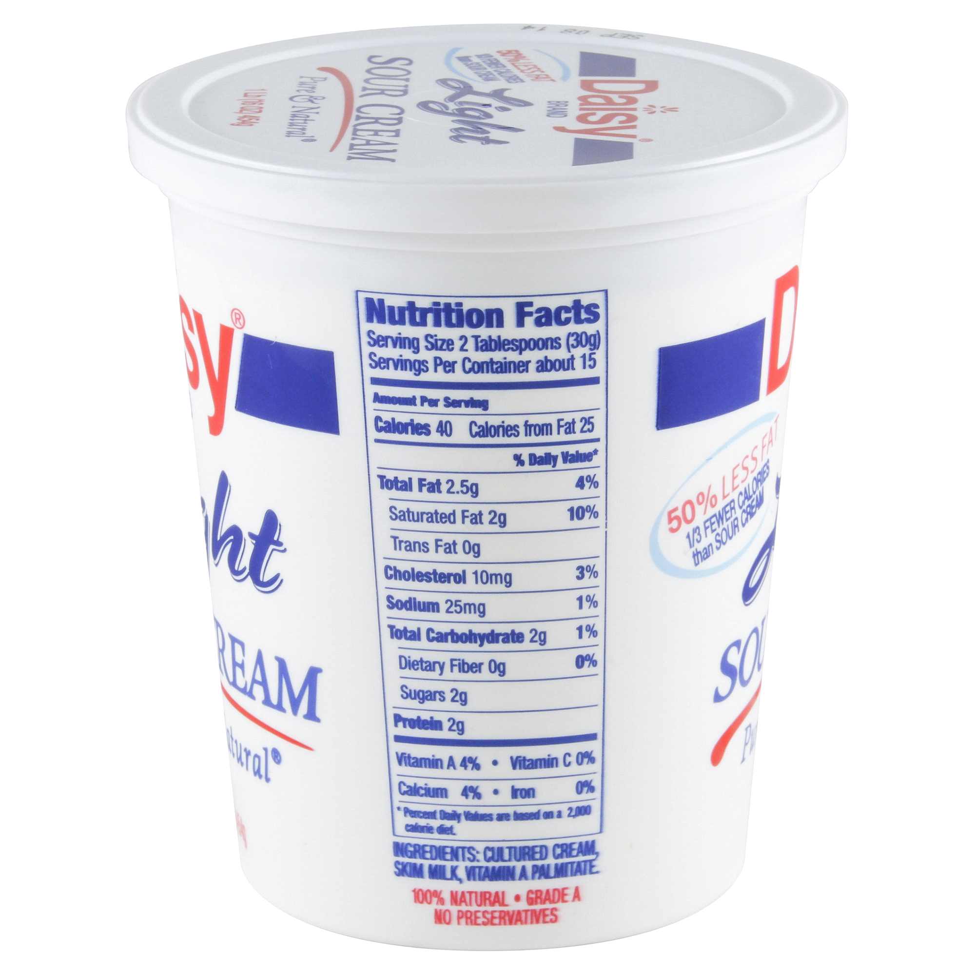 daisy light sour cream 16 oz | meijer