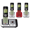 Deals on Vtech CS6729-4D 4 Handset Cordless Answering System
