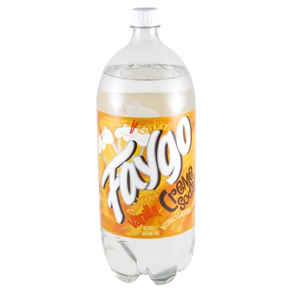 Faygo creme soda