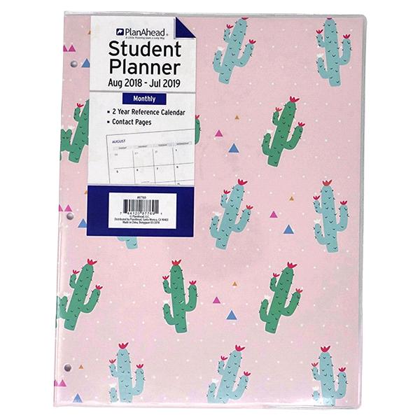 planahead cactus 2 monthly academic planner meijer com