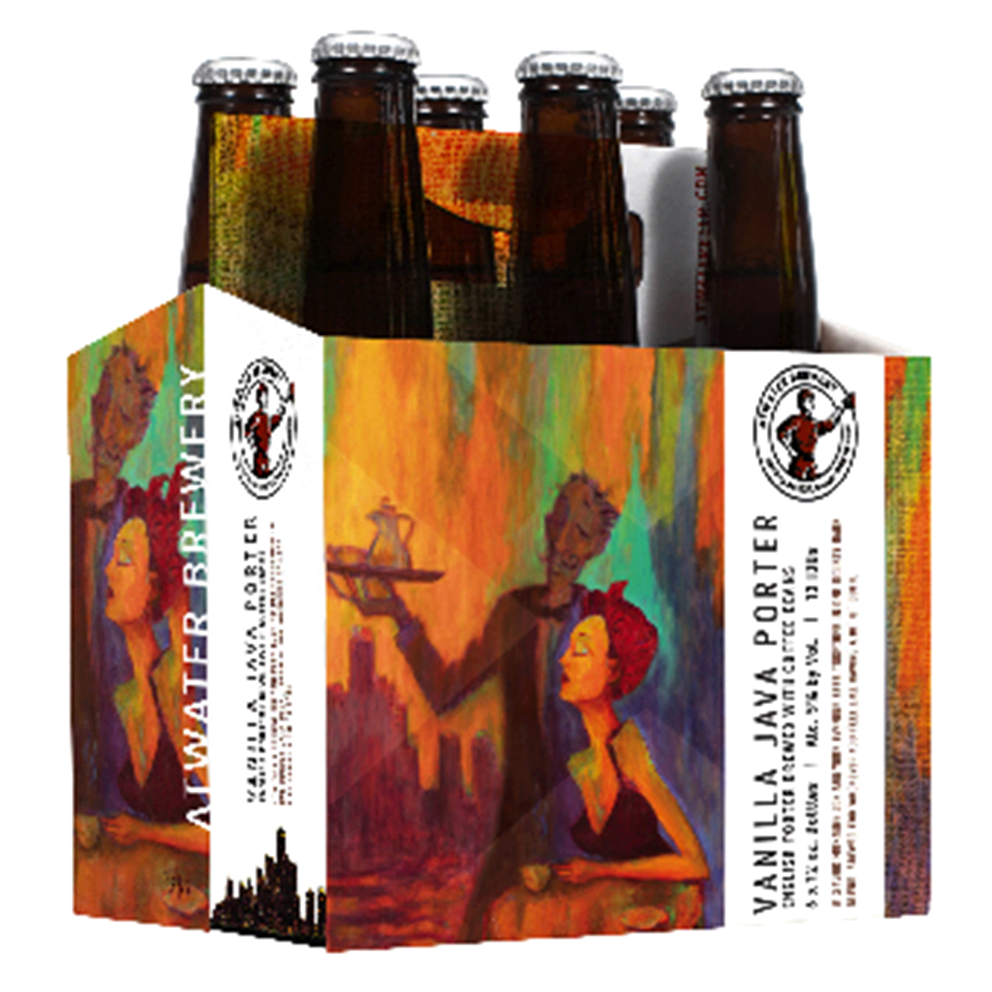 c9a6a5a6120 Atwater Vanilla Java Porter Beer12 oz 6 pk