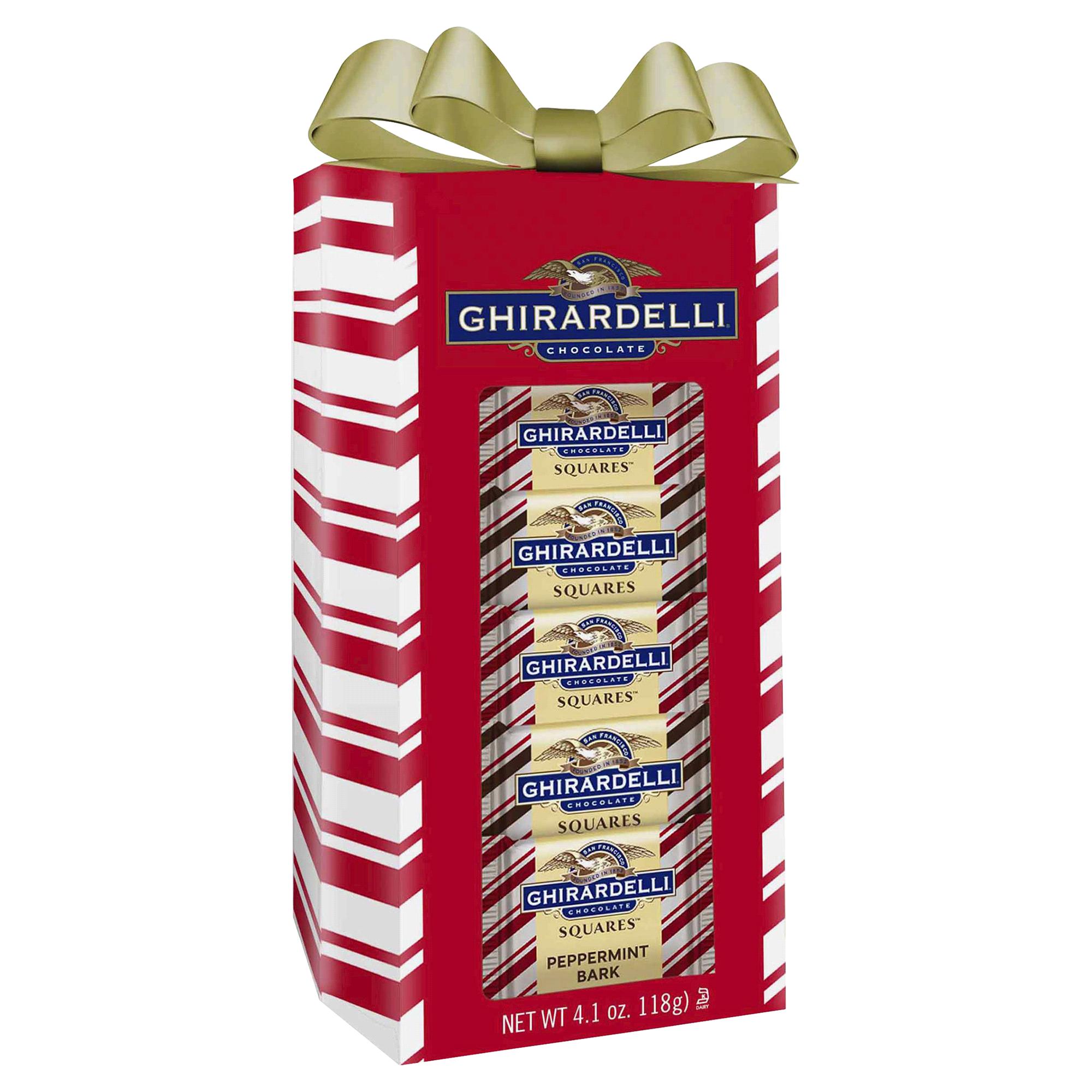 Ghirardelli Holiday Peppermint Bark Window Gift 41 oz  Meijercom